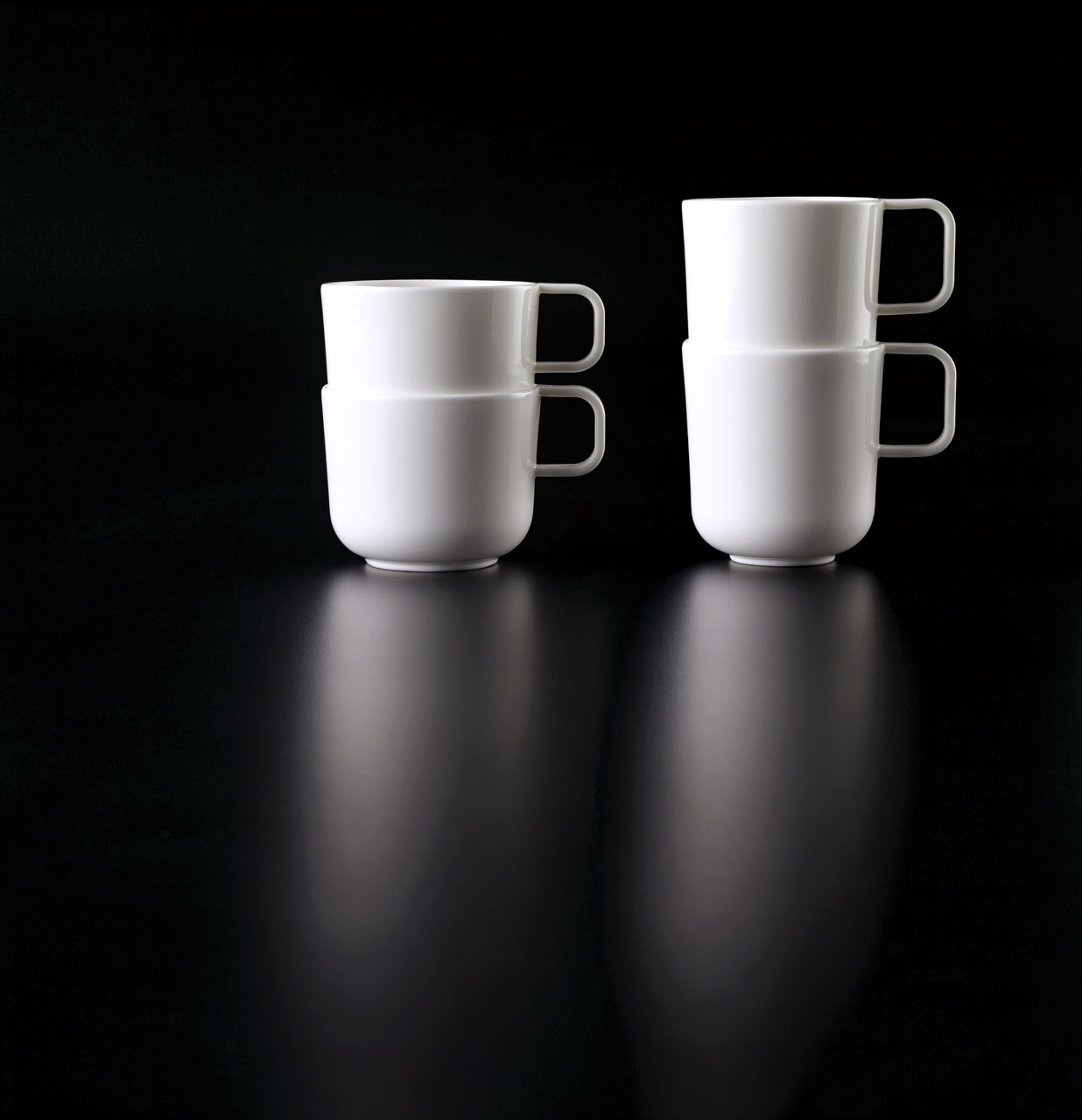 Bent Brandt - TABL white bone china S2 cups and mugs