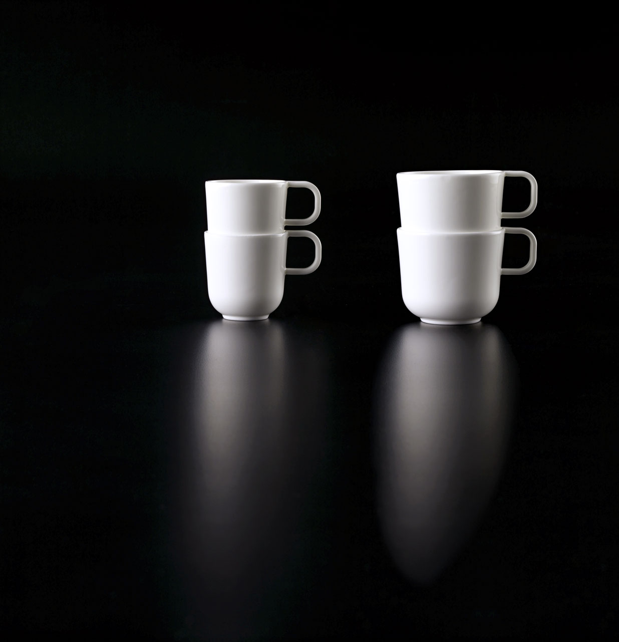 Bent Brandt - TABL white bone china S2 cups