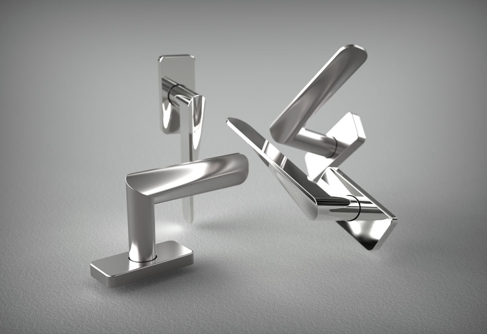 HB100 Series, Window Handles, for Frost.dk, 2009