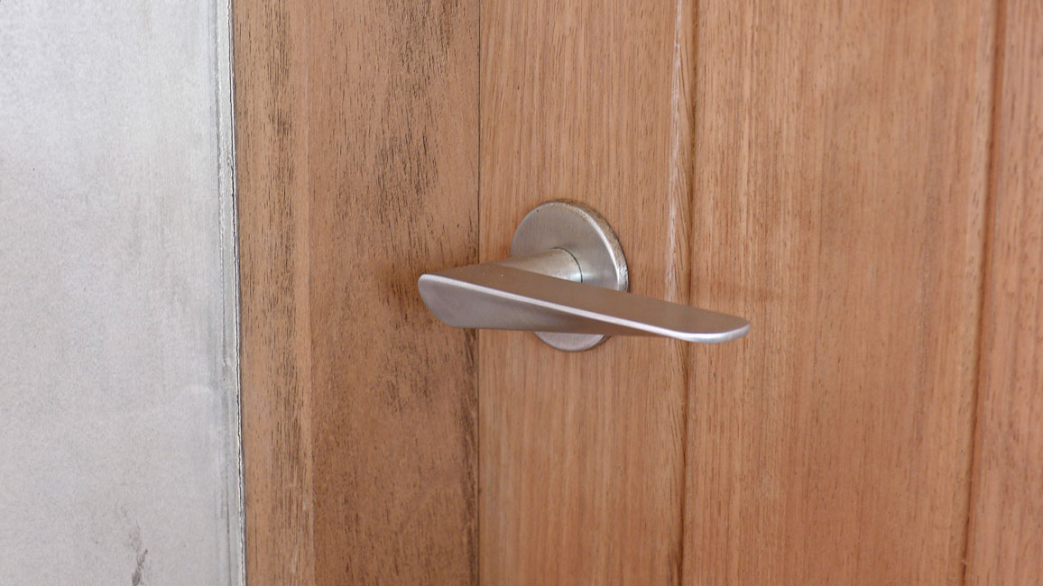 HB101 Door Handle, Brushed Stainless Steel, for Frost.dk, 2009