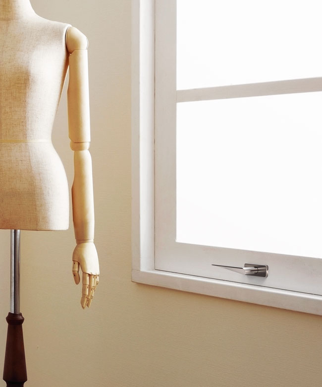 HB101 Window Handle, Brushed finish, for Frost.dk, 2009
