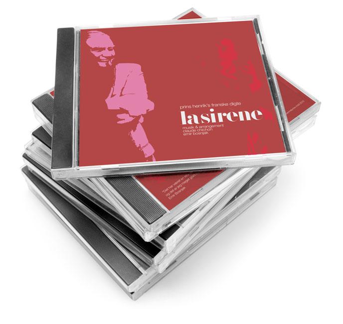 La Sirene Album Cover, 2012
