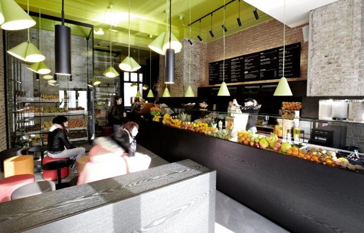 Interior Design, Juice Joint, 2012