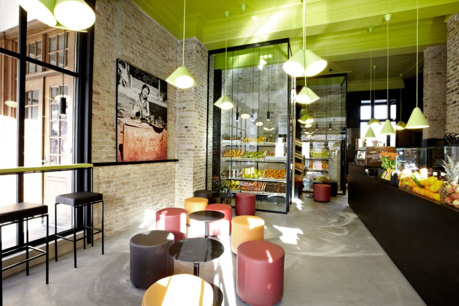 Interior Design, Juice Joint, 2012