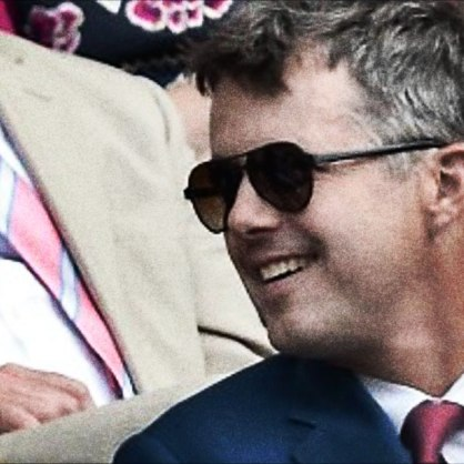 His Royal Highness, Crown Prince Frederik ... Suns Model 8 for Kilsgaard Eyewear, 2013