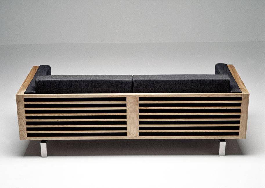 Spoke-Back Sofa 120, for Andersen Furniture, 2000