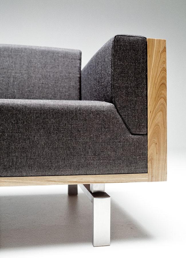Spoke Back Sofa 120, For Andersen Furniture, 2000