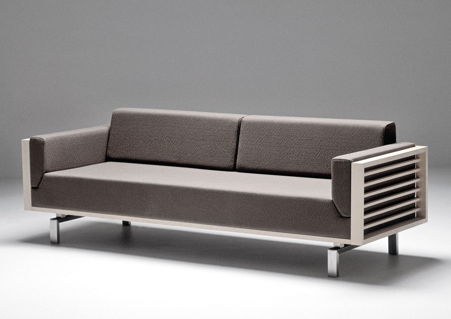 Spoke-Back Sofa 125, for Andersen Furniture, 2000