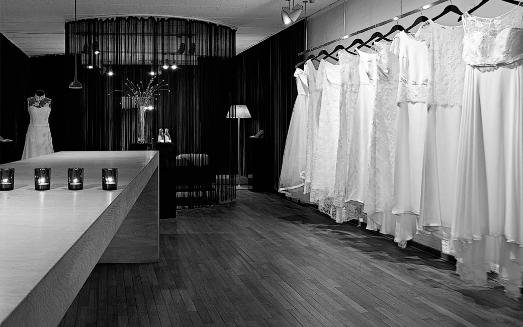 Bespoke interior in Marianne Carøe tailor boutique in Aarhus