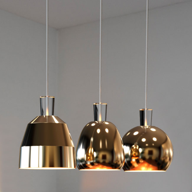SHAPE, pendant series for Nordlux A/S 2015