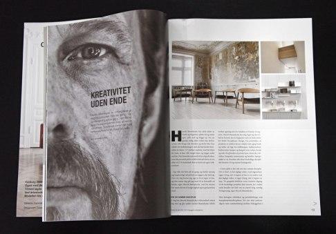 Byggeri+Arkitektur #63, Spring 2015, feature about Bonnelycke mdd