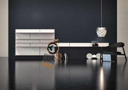 UNU Shelf, Storage, Wardrobe and Bathroom System for Frost.dk 2009
