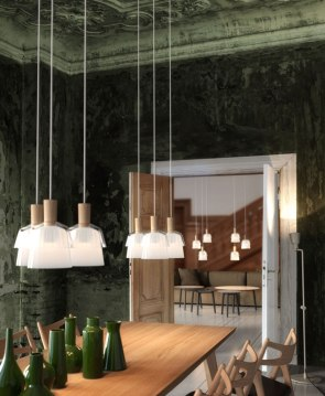CALICO, glass pendant, for Nordlux A/S 2016